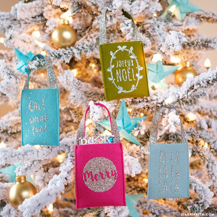 Cute felt gift card holders