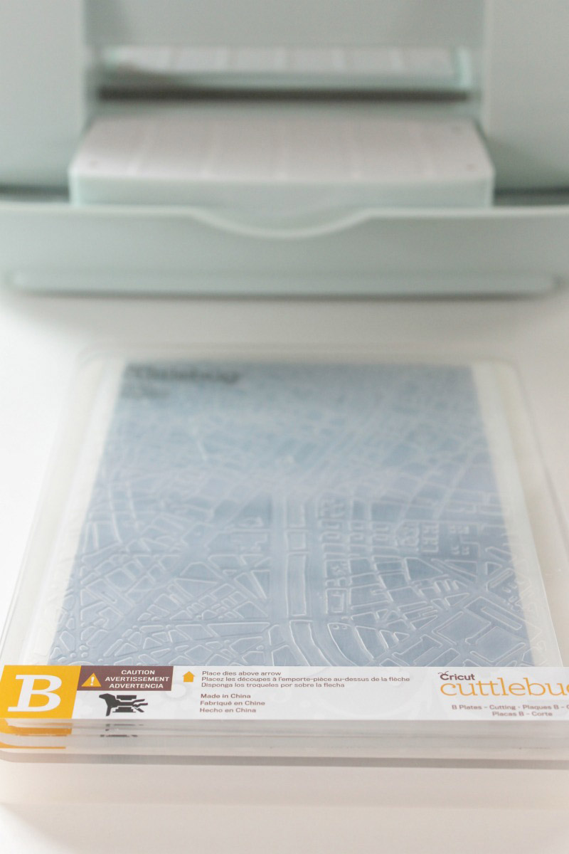 Embossing plates stack