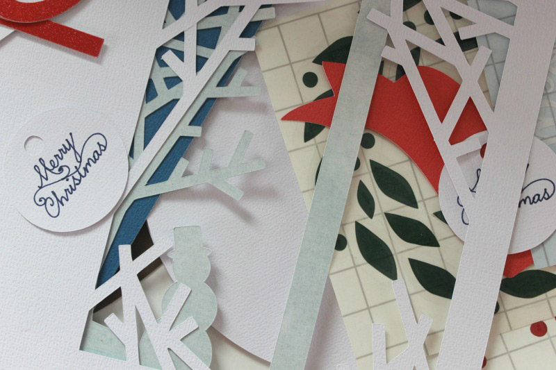 Cut out the pieces to make your card