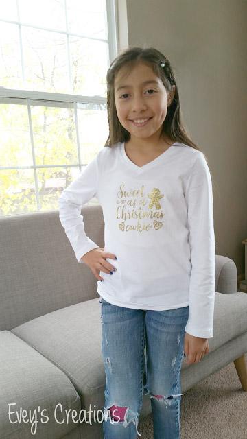Christmas cookie T-shirt