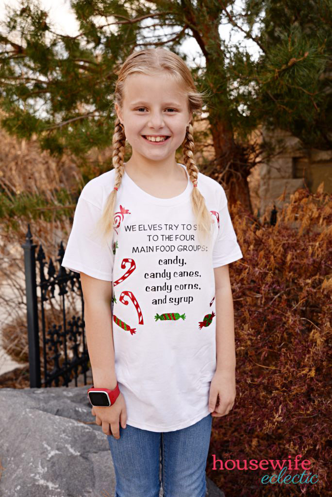 Elf inspired T-shirts for Holiday Attire