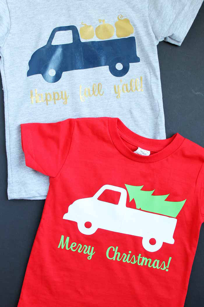 Holiday T-shirts