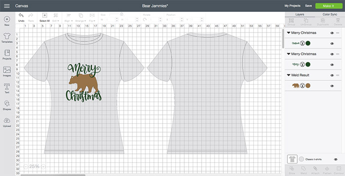 Design your shirt for the family jammies