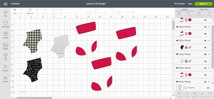 Fun patterns for stocking onesies