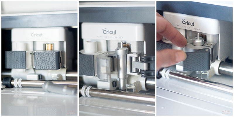 Learn how to change the blades in a Cricut machine