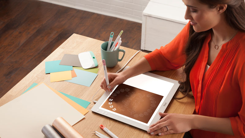 The Cricut BrightPad will help you weed your projects better!