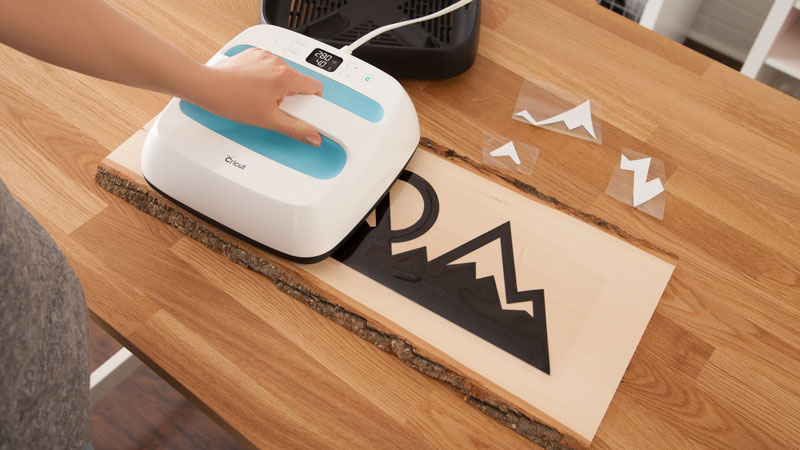 The Cricut Easy Press will help you succeed with your iron on projects