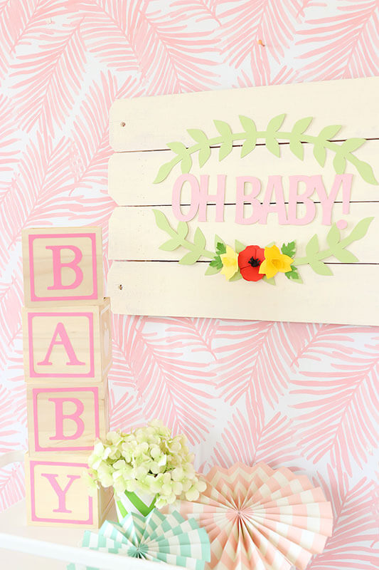 Baby shower decor inspiration