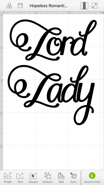 Lady Design in Cricut DS