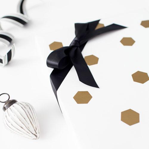 Hexagon Gold Wrap