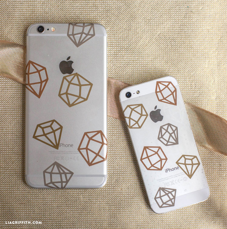 Add some bling to your phone cases