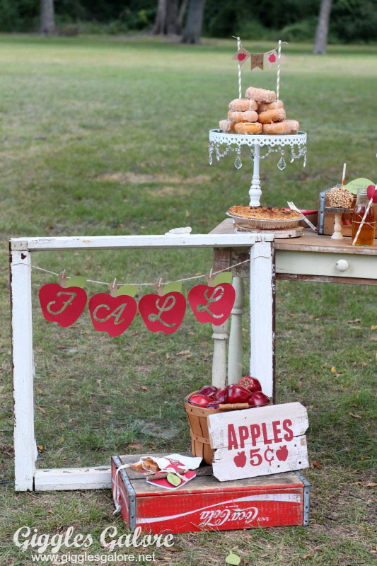 Apple picking parties are perfect for a fall celebration