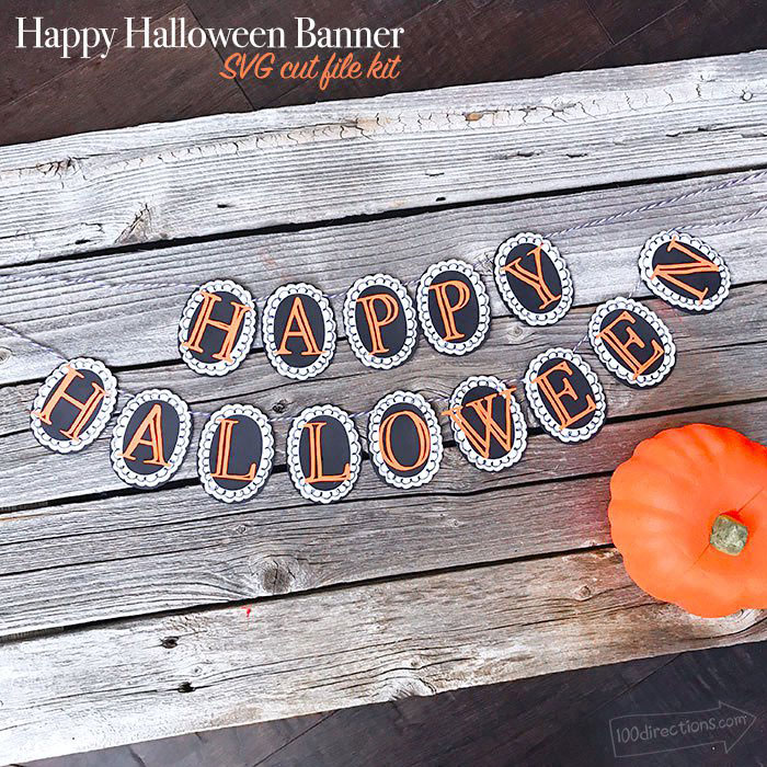 Dress up any Halloween party with this banner.