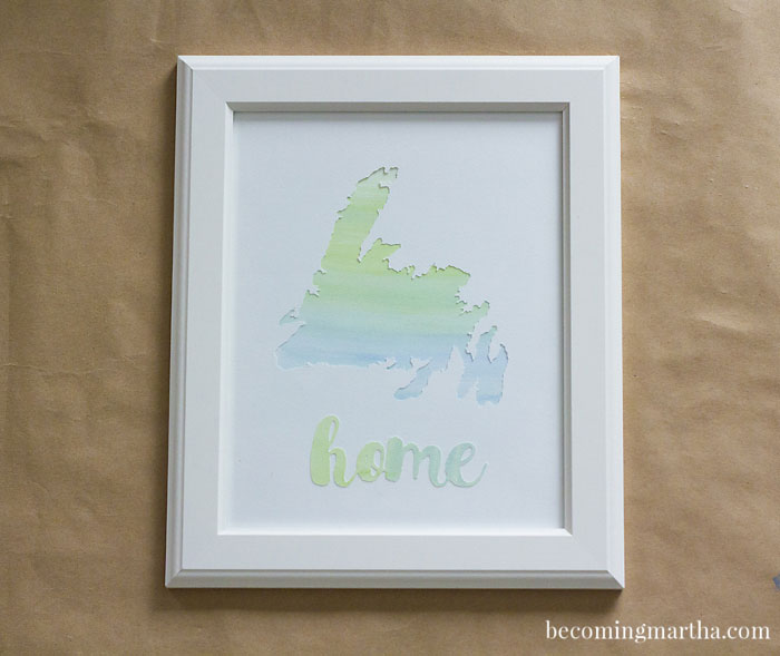 Make your room lovelier with this watercolor art