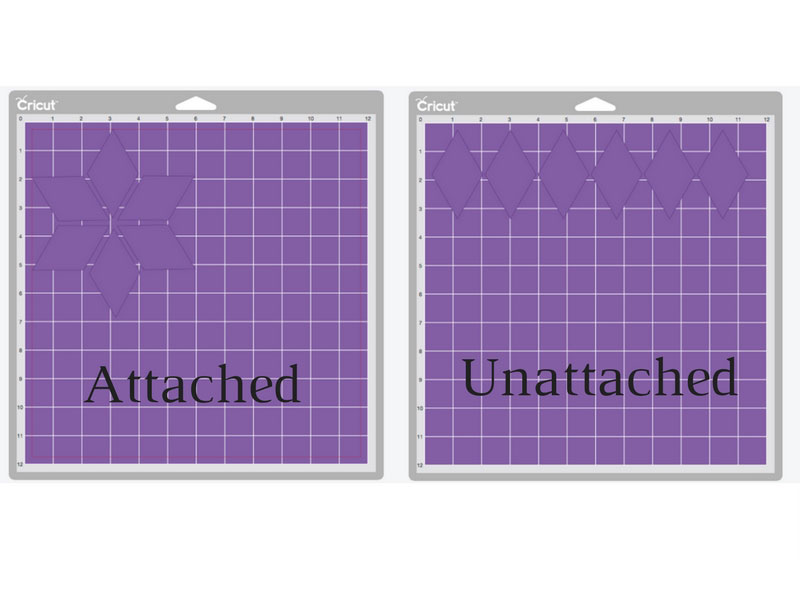 Using the attach tool in Cricut Design Space