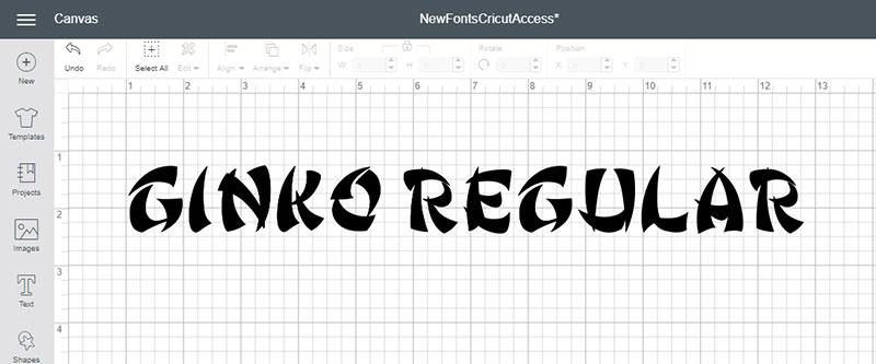 Ginko Regular Font