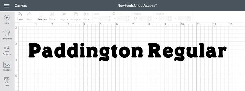 Paddington Regular Font