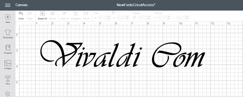 Vivaldi Com Font