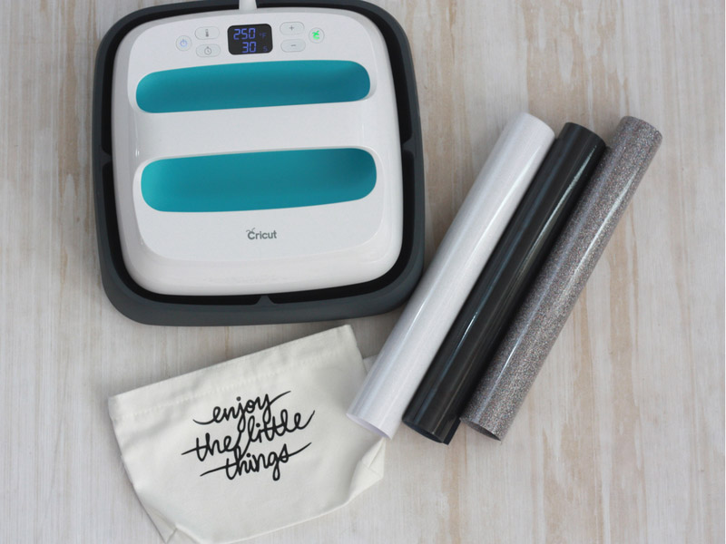 Iron-on supplies for the new Cricut user
