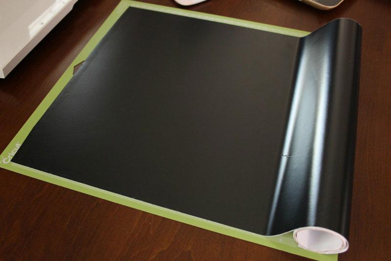 Put vinyl on the mat