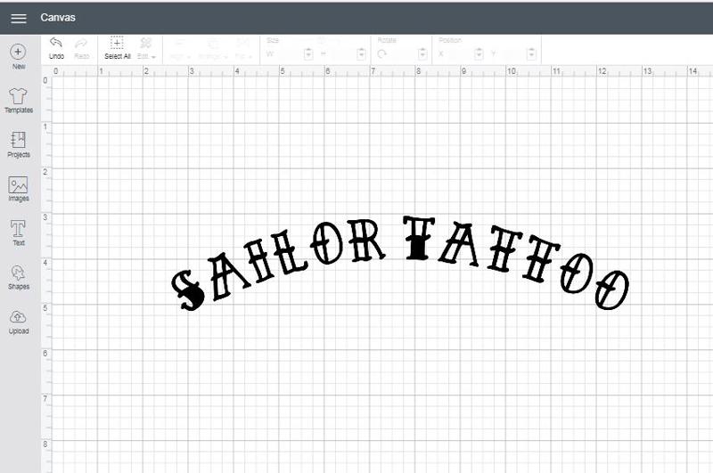 Sailor Tattoo font