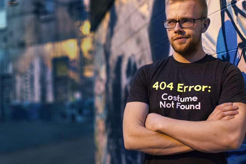 Make geeky shirts with a Cricut