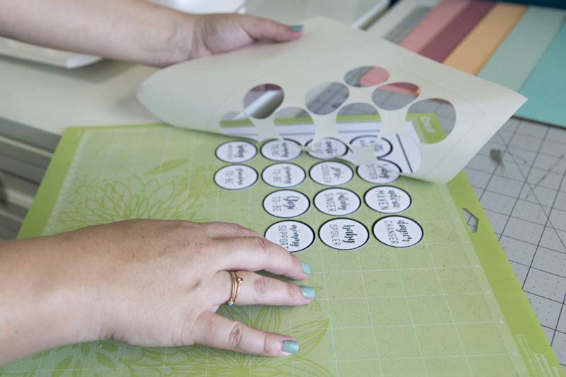DIY Rosette Name Tags