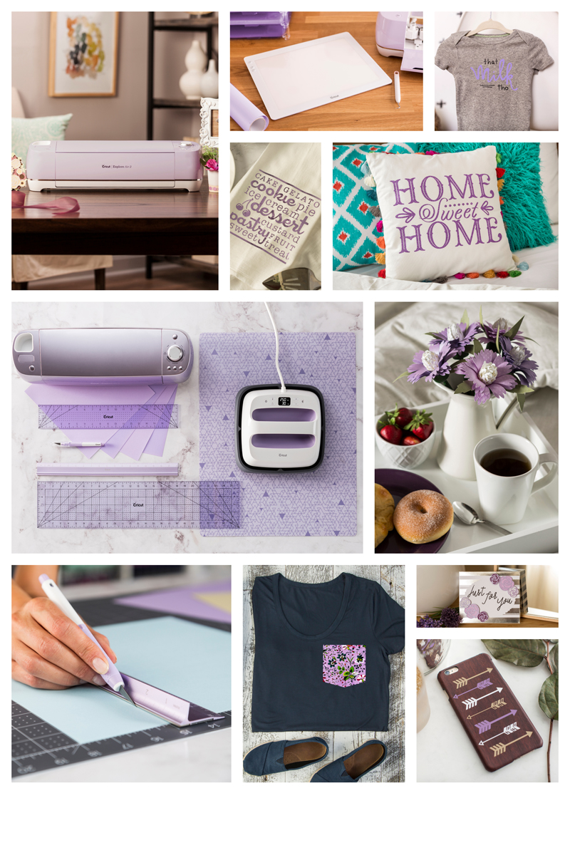 Cricut Lilac Collection