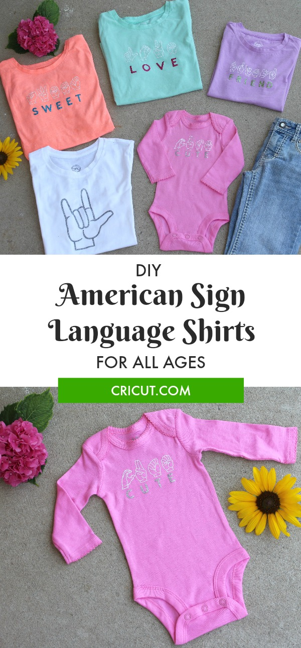 Make These American Sign Language Shirts