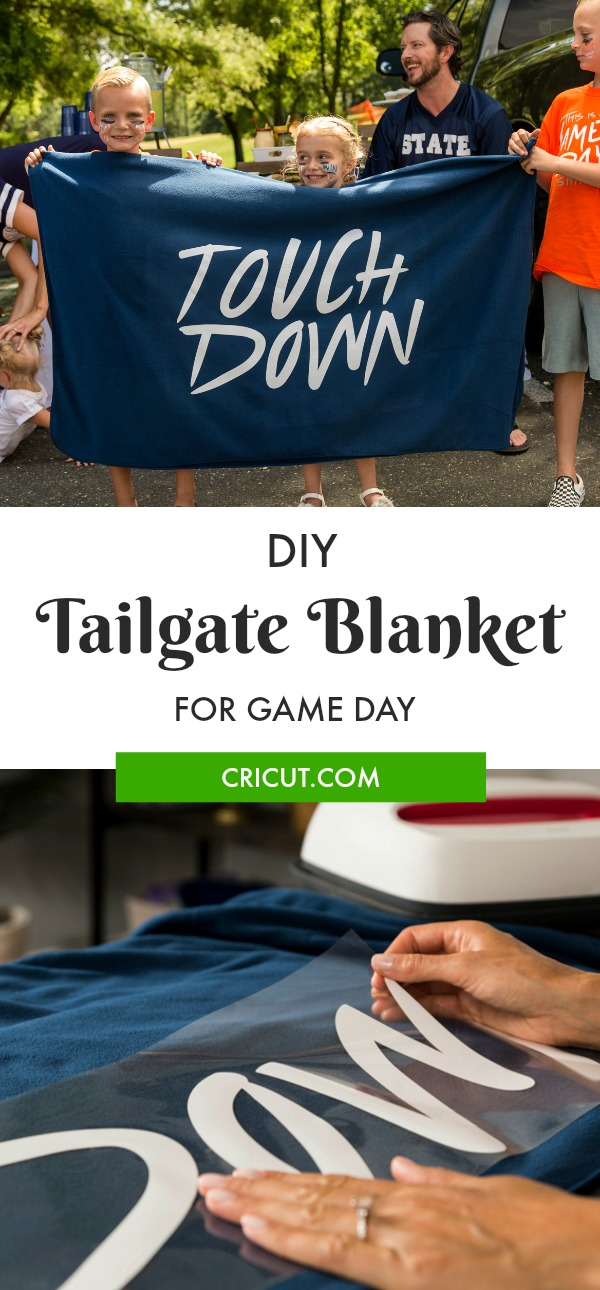 DIY Tailgate Blanket for your next game day event