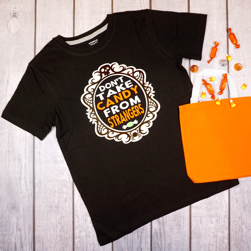 DIY Halloween Shirts with Happiness is Homemade