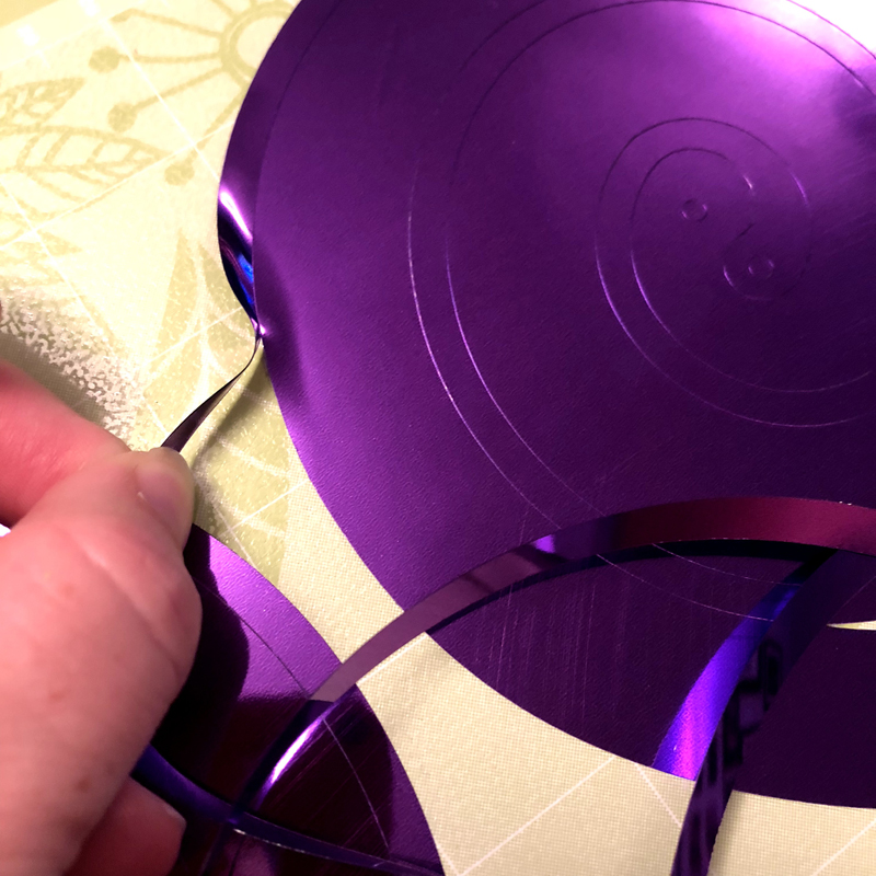 How to Cut and Make Projects with Party Foil