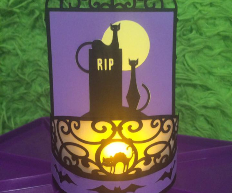 Cricut Community DIY Halloween Decor Projects