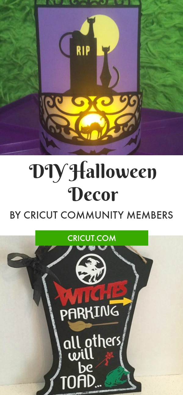 Cricut Community DIY Halloween Decor Projects