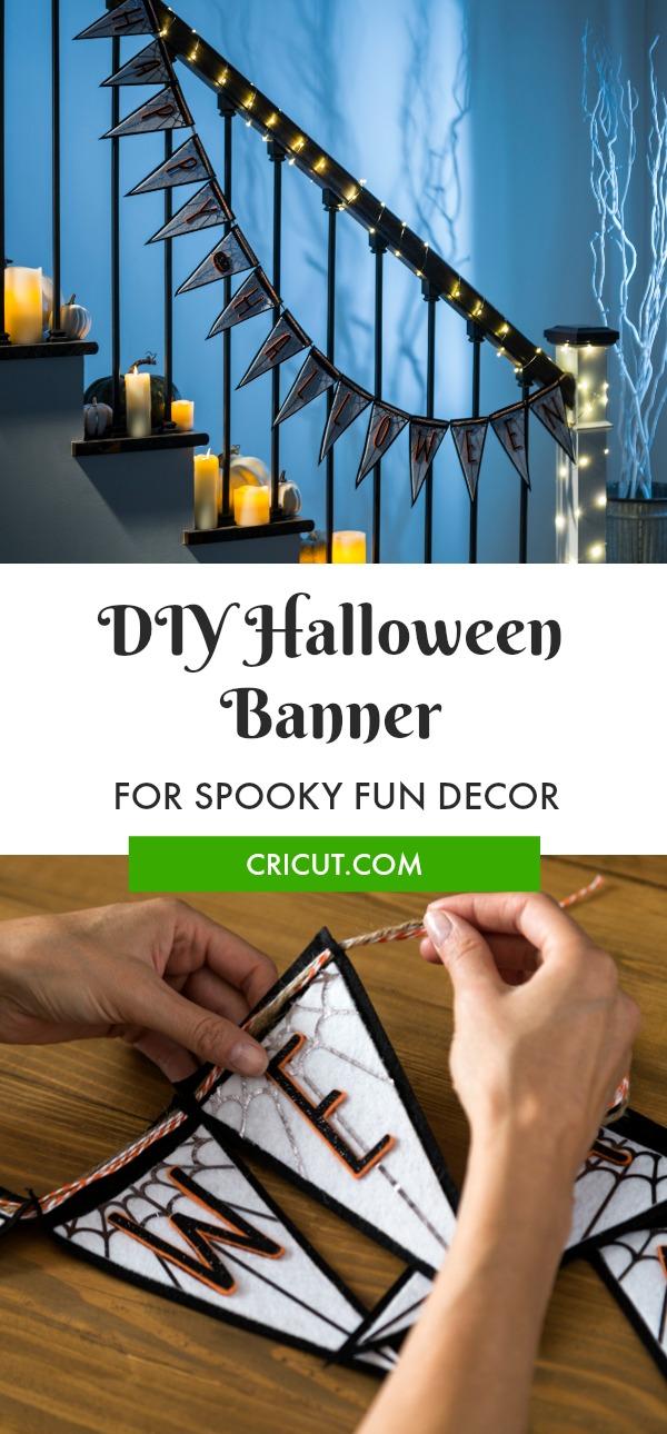 DIY Happy Halloween Banner