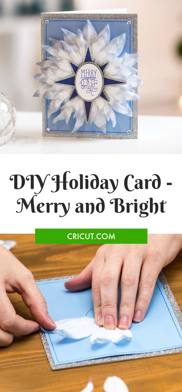 DIY Merry and Bright Holiday Card