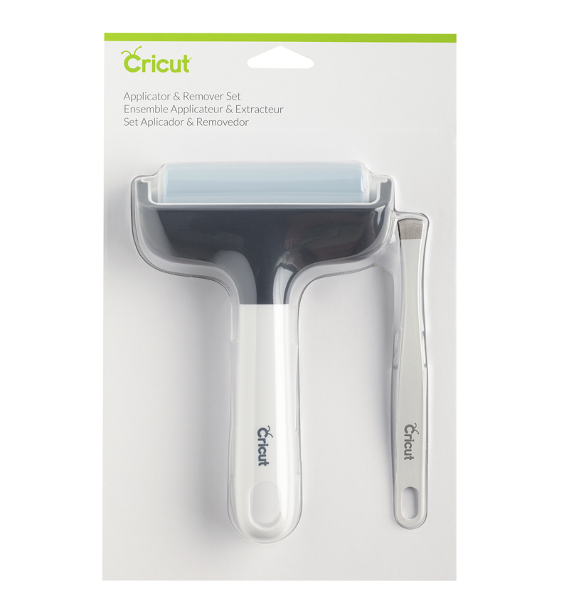Cricut Applicator and Remover Set with brayer and wide tweezers