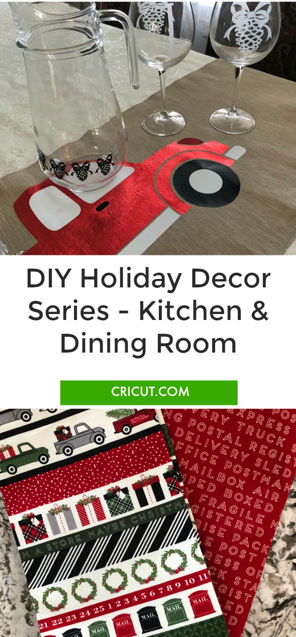 8 Weeks to DIY Holiday Décor: Week 4 – Kitchen and Dining Room