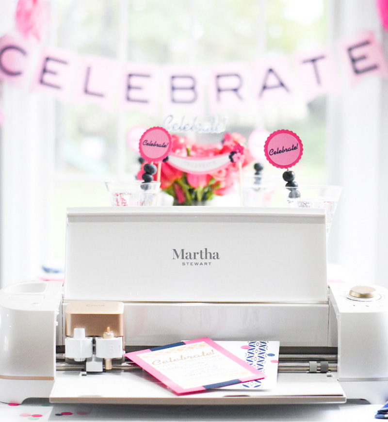 Martha Stewart Cricut Projects Week 4