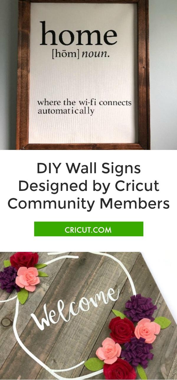 Cricut Community: Favorite Wall Signs