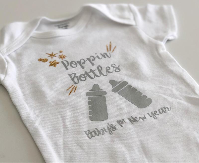 DIY New Year's Eve Shirts
