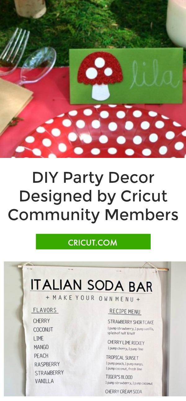 Cricut Community Favorites: Party Decor