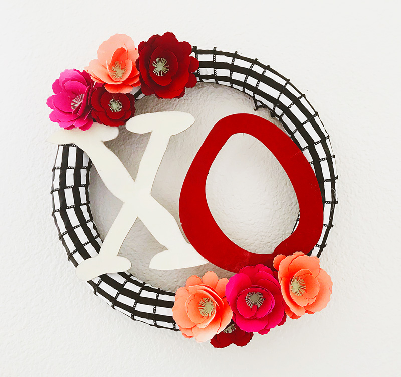 DIY Valentine's Wreath