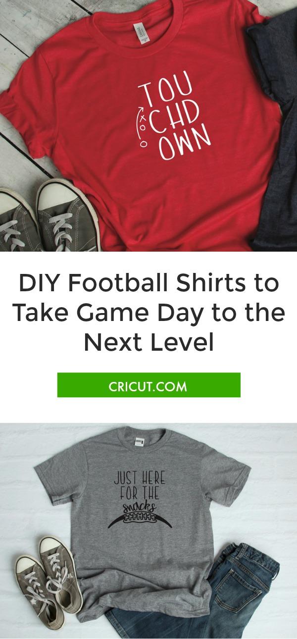 DIY football shirts