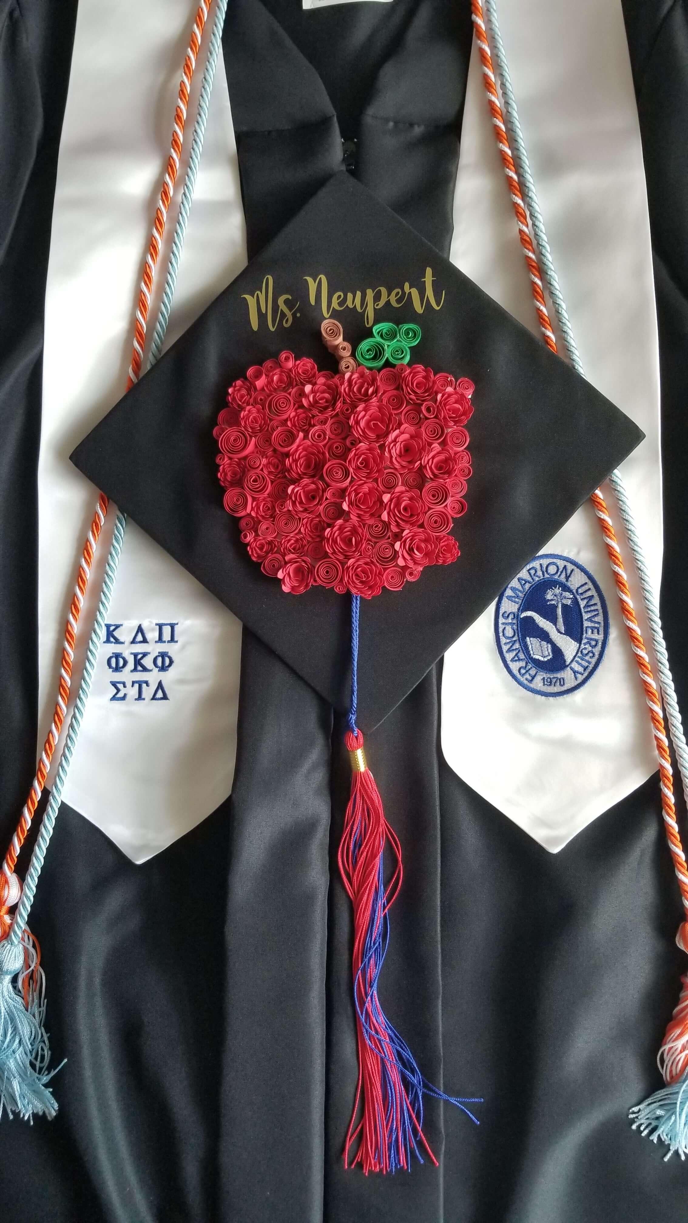 Melayna Neupert Personalized Graduation Cap and Regalia