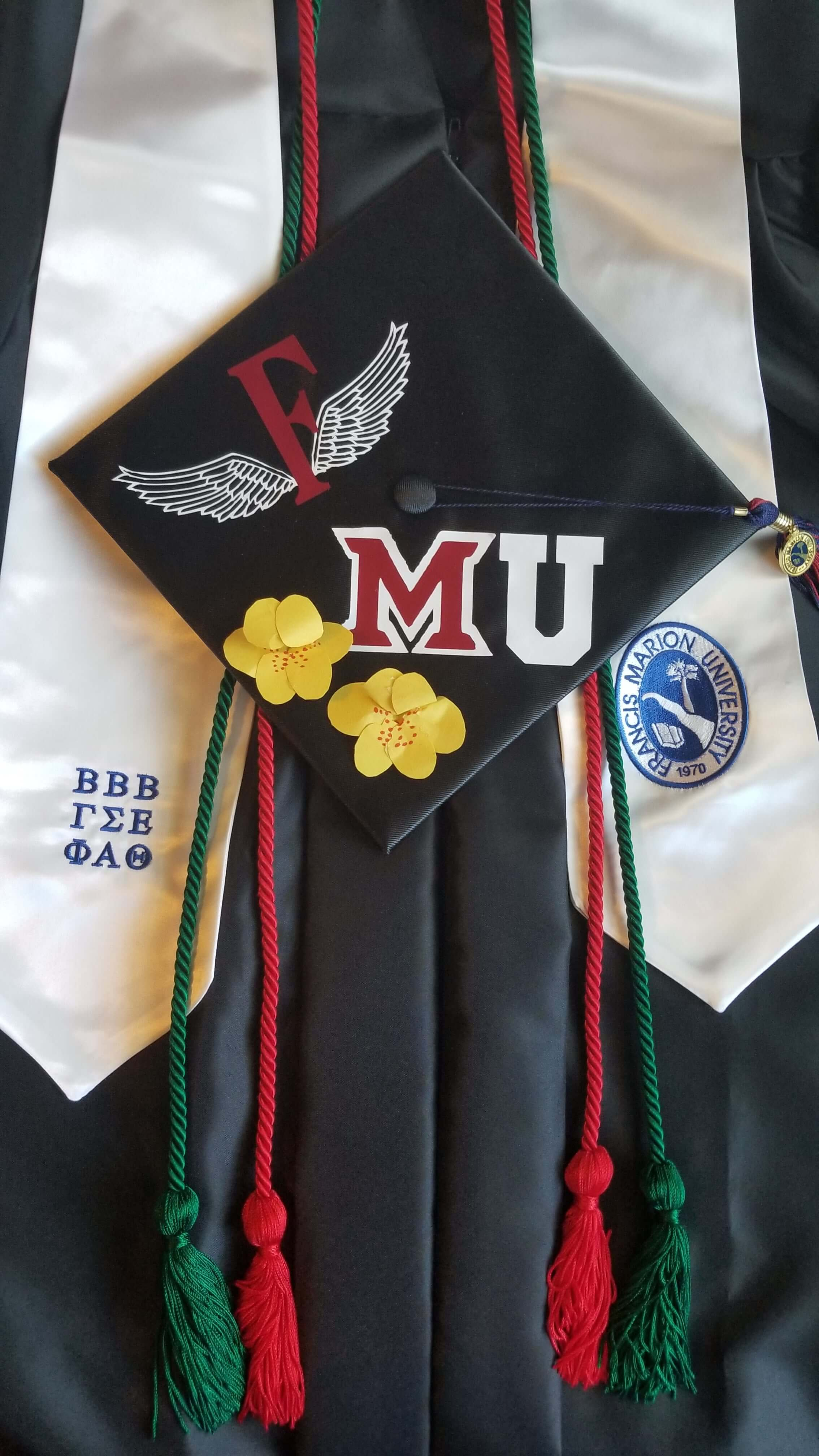 Deannah Neupert Personalized Graduation Cap and Regalia