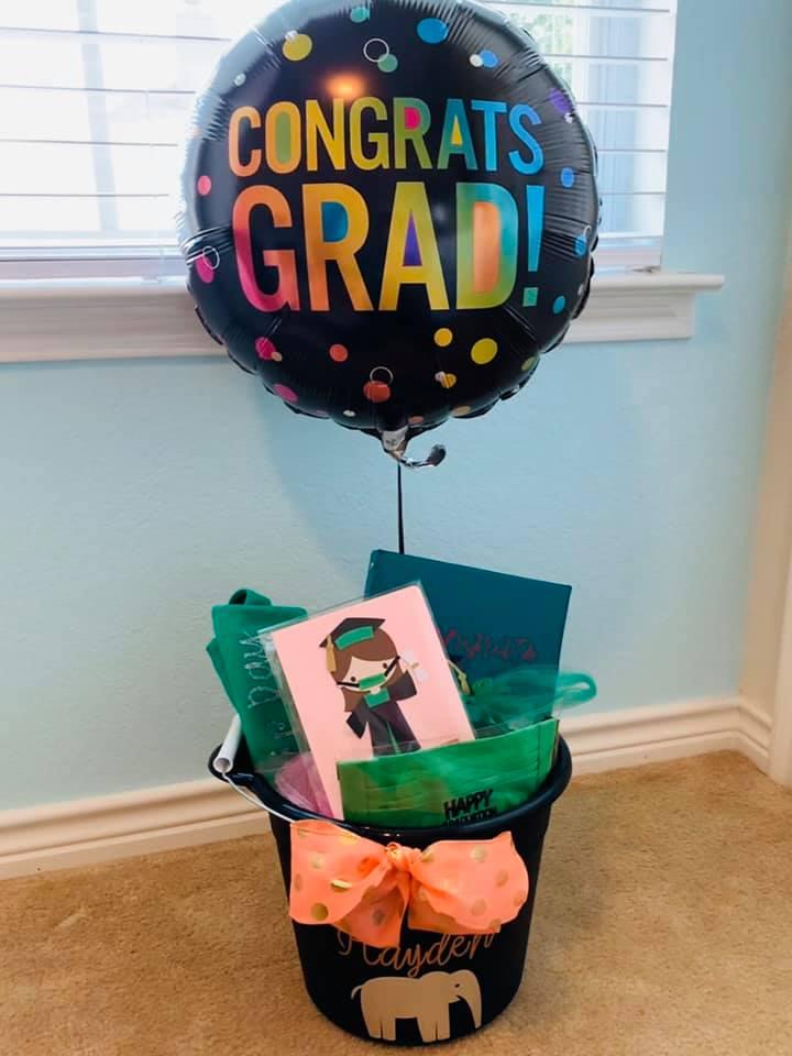 Karyl Patredis Adopt-a-Senior Graduation Gift Basket