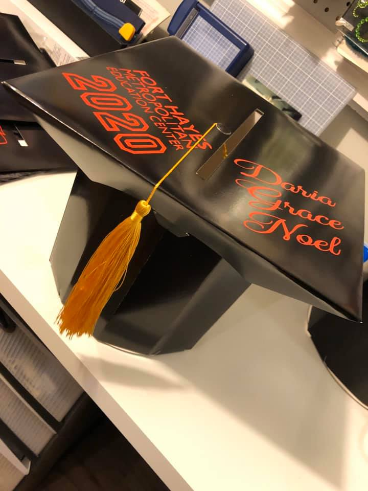 Mara Lee Ford Graduation Cap Gift Box