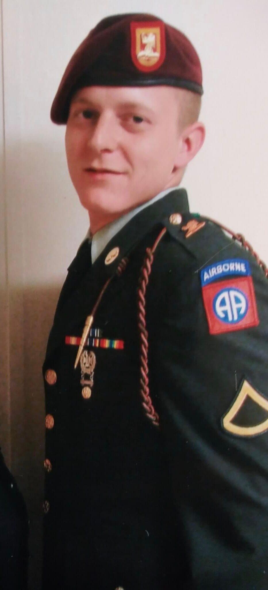 James Davis, Army E4 Specialist