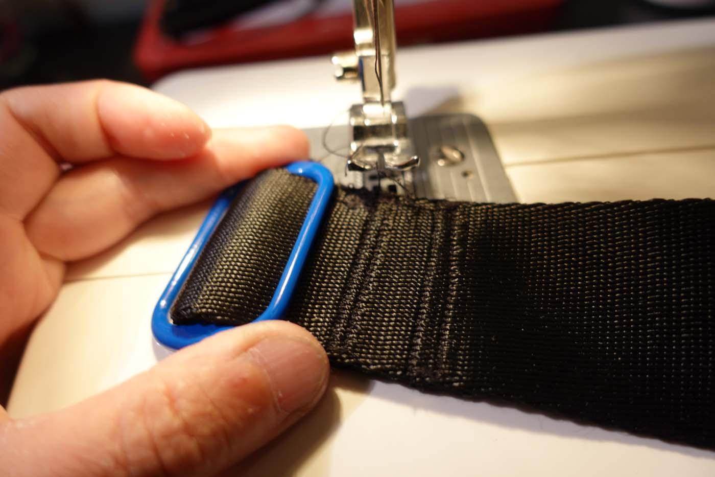 sewing a tri-glide slide
